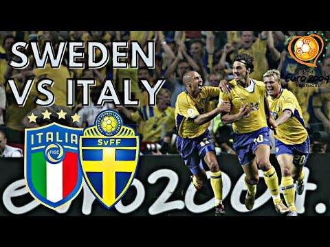 Italy vs Sweden 1-1 All Goals & Highlights ( UEFA Euro 2004 )