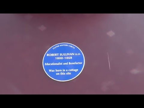 Robert Sullivan Holywood Educationalist, Blue Plaque