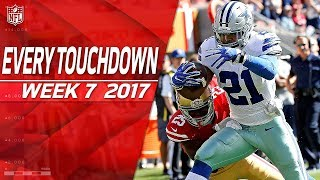 Every Touchdown from Week 7 | 2017 NFL Highlights
