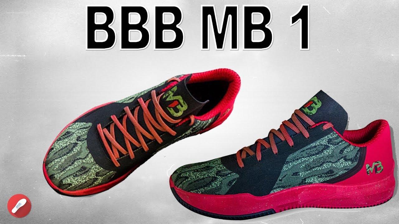 ac1cd3cb8603e7 Big Baller Brand MB1! Lamelo Ball s Signature Shoe! - YouTube