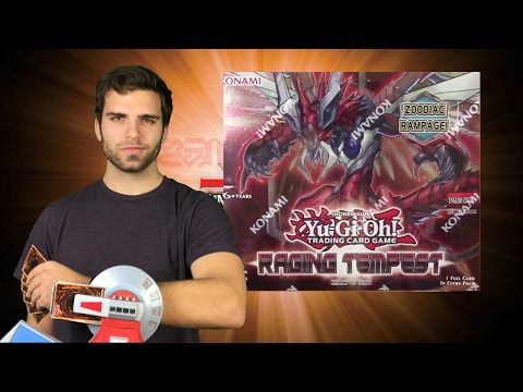 The BEST 2017 YuGiOh Raging Tempest Booster Box Opening EVer. OH BAby.. #SimplyChill?
