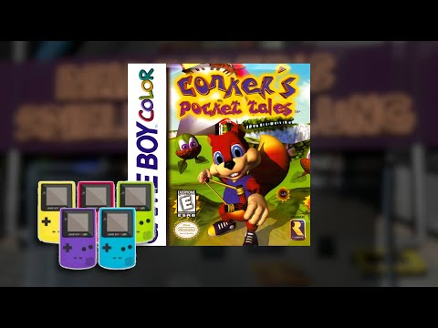 Gameplay : Conkers Pocket Tales [Gameboy Color]