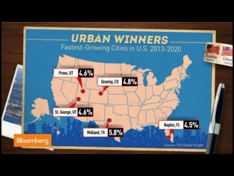 Where Are the Fastest Growing Cities in the U.S.?