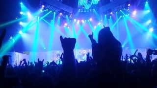 IRON MAIDEN - Run To The Hills, Wasted Years - Live Arena Zagreb