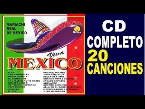 VIVA MEXICO - CD COMPLETO - Mariachi Real de Mexico