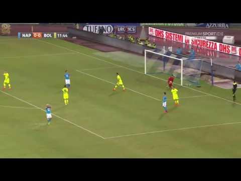 Napoli 3-1 bologna   Auriemma pazzo di milik