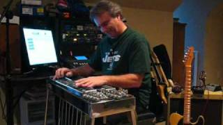 Working Man Blues Pedal Steel Guitar Tony Prior