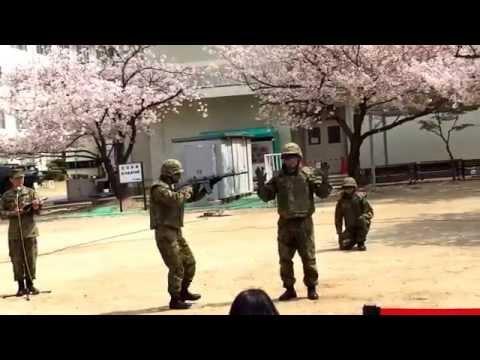 陸上自衛隊 伊丹駐屯地 格闘展示