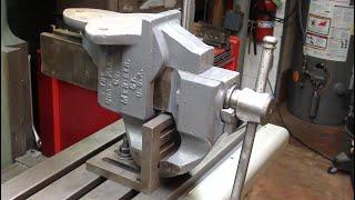 Parker Bench Vise Repair pt 3 TIPS 593 tubalcain