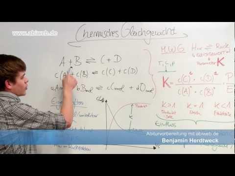 Chemisches Gleichgewicht berechnen - Abitur Chemie from YouTube · Duration:  5 minutes 28 seconds