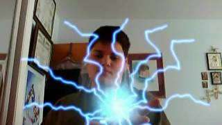 Chidori and Rasengan Effects Combined