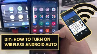 How To Activate Wireless Android Auto  |  Wireless Android Auto Australia