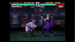 Tekken 3 (PlayStation) Arcade as Doctor B.