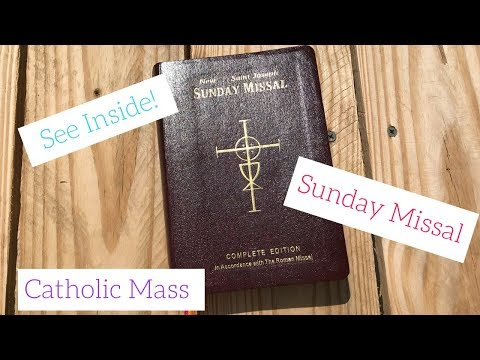 See Inside My Sunday Missal | Roman Catholic