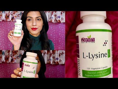 L- Lysine Benefits ft. Zenith Nutrition | L-Lysine for Immunity & Skin | Nidhi Chaudhary