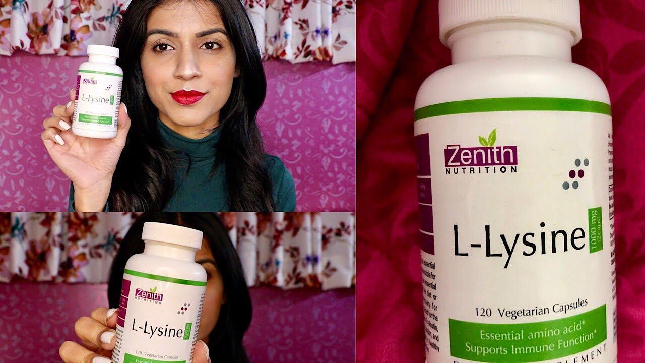 L- Lysine Benefits ft  Zenith Nutrition | L-Lysine for Immunity & Skin |  Nidhi Chaudhary