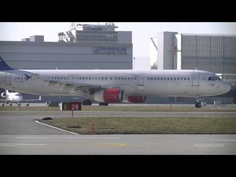 SAS A321 Taxi and Takeoff [HD]