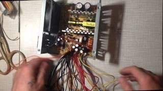 Блок питания на три напряжения из компьютерного ATX блока питания