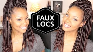 Realistic Crochet Faux Locs! | Natural Hair Protective Style | Crochet Braids | BorderHammer