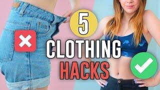 Video 5 CLOTHING HACKS EVERY GIRL MUST KNOW!! // Jill Cimorelli download MP3, 3GP, MP4, WEBM, AVI, FLV November 2017