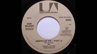Don McLean - American Pie (single mix) (1971)