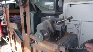 昭和を感じさせるイセキM30CV 木製フレームのもみすりきです。 オアシス...