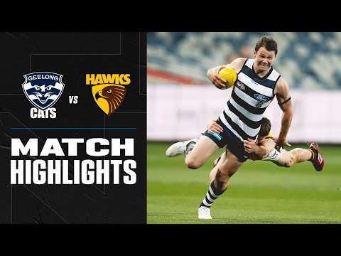Hawkins Joins Geelong Royalty Collingwood V Geelong Highlights Round 1 2019 Afl Youtube