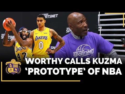 """Kyle Kuzma """"The Prototype"""" Of NBA, According To Lakers Legend James Worthy"""