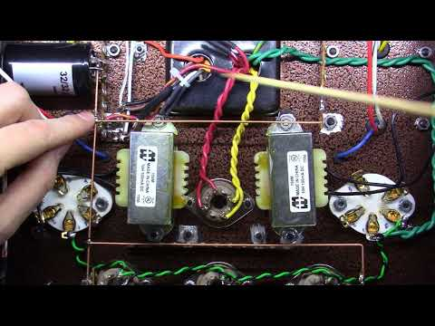 Single Ended Tube Amplifier Build 2017 - Part 14 - Power Supply and Ground Buss