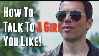 How to talk to a girl you like for the first time in 3 simple steps - Stephan Erdman