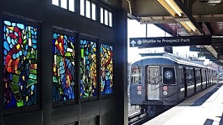 Sラインの車窓から/ブルックリン① - Brooklyn from S train