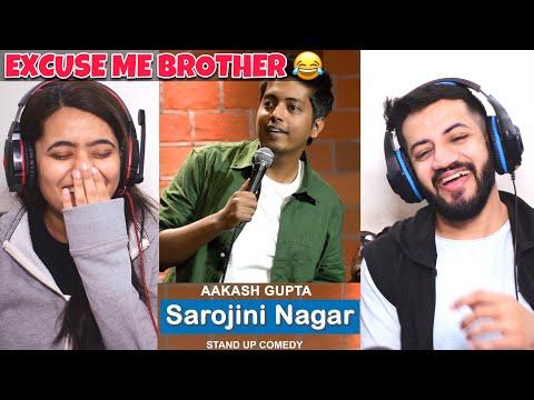 Aakash Gupta – Sarojini Nagar | Excuse Me Brother | Stand-Up Comedy Reaction | The Tenth Staar