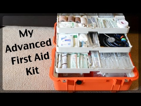 Advanced First Aid Kit - Pelican 1460 EMS Case