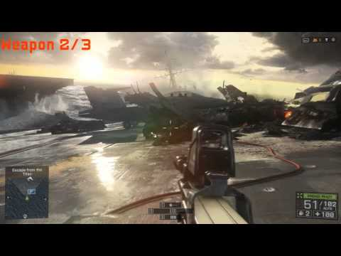 BF4 Guns and Dogtags Location Guide Part 3 - South China Sea