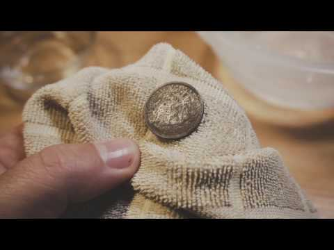 How to Clean Silver Coins Using Solutions