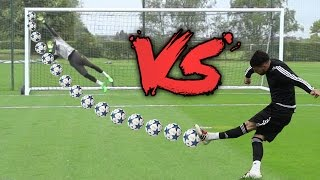 F2 VS PREMIER LEAGUE KEEPER!