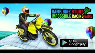 Ramp Bike - Impossible Bike Simulator Racing Games