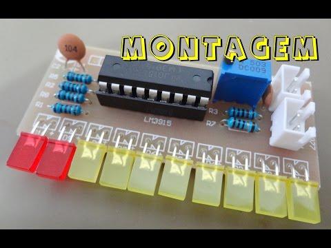 MONTAGEM VU METER  - CI LM3915)