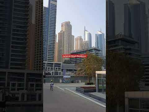DUBAI TOUR 2021   Dubai Marina Yatch Club   Jumeirah Beach Residence   #shorts   #viral  