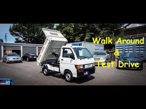 1998 Daihatsu Hijet 4WD Dump Truck | Japan Car Auction Purchase