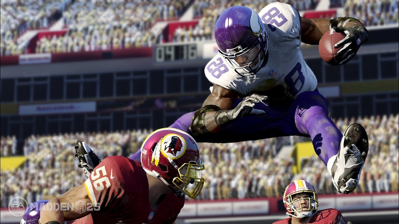 a9d831a09e2 Madden NFL 25 Xbox One Gameplay! (XB1 Vikings vs Bears 1080p HD ...