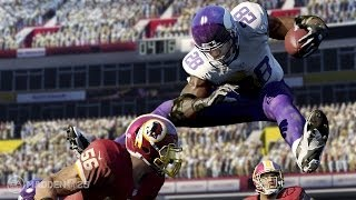 Madden NFL 25 Xbox One Gameplay! (XB1 Vikings vs Bears 1080p HD)