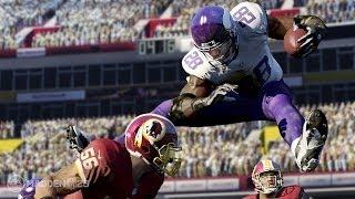 Madden NFL 25 Xbox One Gameplay! (XB1 Vikings vs Bears 1080p HD)