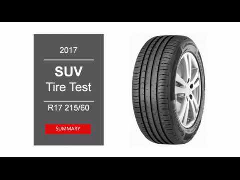 2017 suv summer tire test summary 215 60 r17 youtube. Black Bedroom Furniture Sets. Home Design Ideas