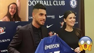 Emerson Palmieri signs for Chelsea