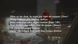 GIGGS-ft French Montana-Hold Up (Lyrics)