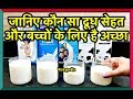 Which Milk is Best for Weight Loss | Which Milk is Best for Baby | Which Milk is Good for Health