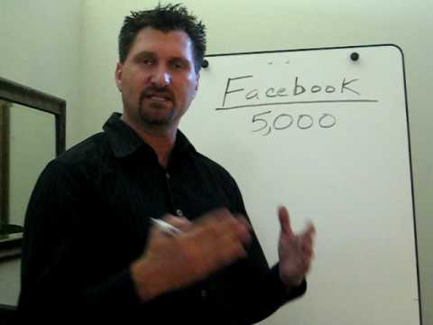 "Facebook Training ""How to get to 5K Friends Fast""  Vince W Baker"
