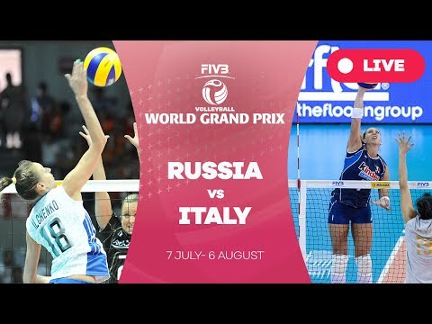 Russia v Italy - Group 1: 2017 FIVB Volleyball World Grand Prix