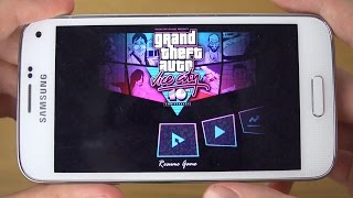 GTA Vice City Samsung Galaxy S5 Mini 4K Gaming Review